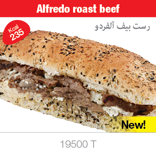 Alfredo roast beef